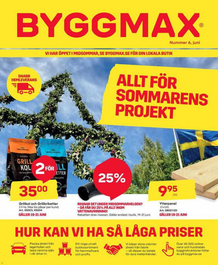 Byggmax Erbjudande Kampanjer . Byggmax (2020-06-28-2020-06-28)