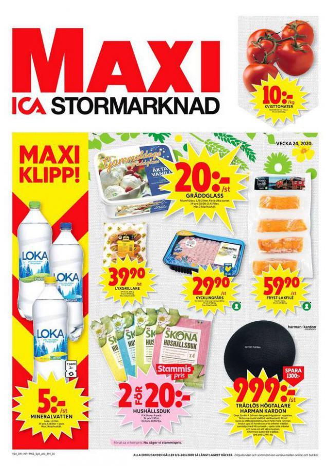 ICA Maxi Erbjudanden . ICA Maxi (2020-06-14-2020-06-14)