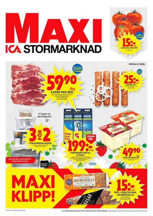ICA Maxi Erbjudanden . ICA Maxi (2020-07-05-2020-07-05)