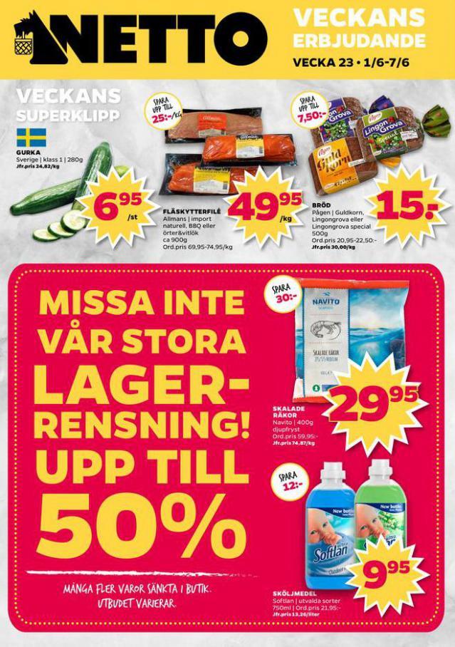 Nettobladet v23 2020 . Netto (2020-06-07-2020-06-07)