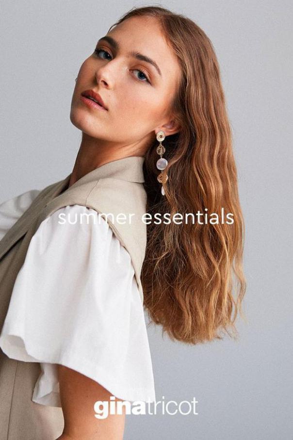 Summer Essentials . Gina Tricot (2020-09-13-2020-09-13)