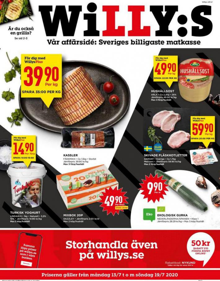 Willys reklamblad . Willys (2020-07-19-2020-07-19)