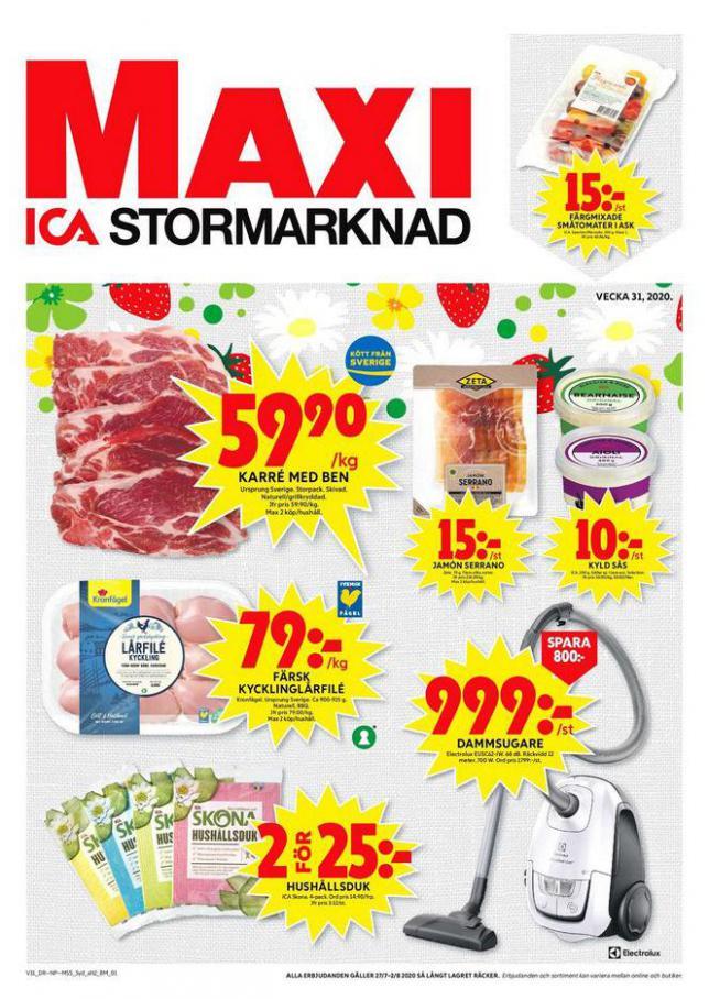 ICA Maxi Erbjudanden . ICA Maxi (2020-08-02-2020-08-02)