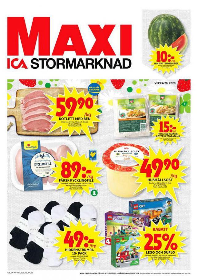 ICA Maxi Erbjudanden . ICA Maxi (2020-07-12-2020-07-12)
