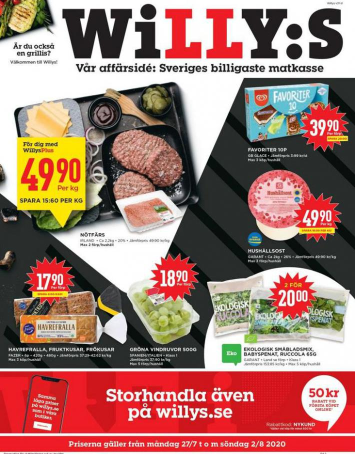 Willys reklamblad . Willys (2020-08-02-2020-08-02)