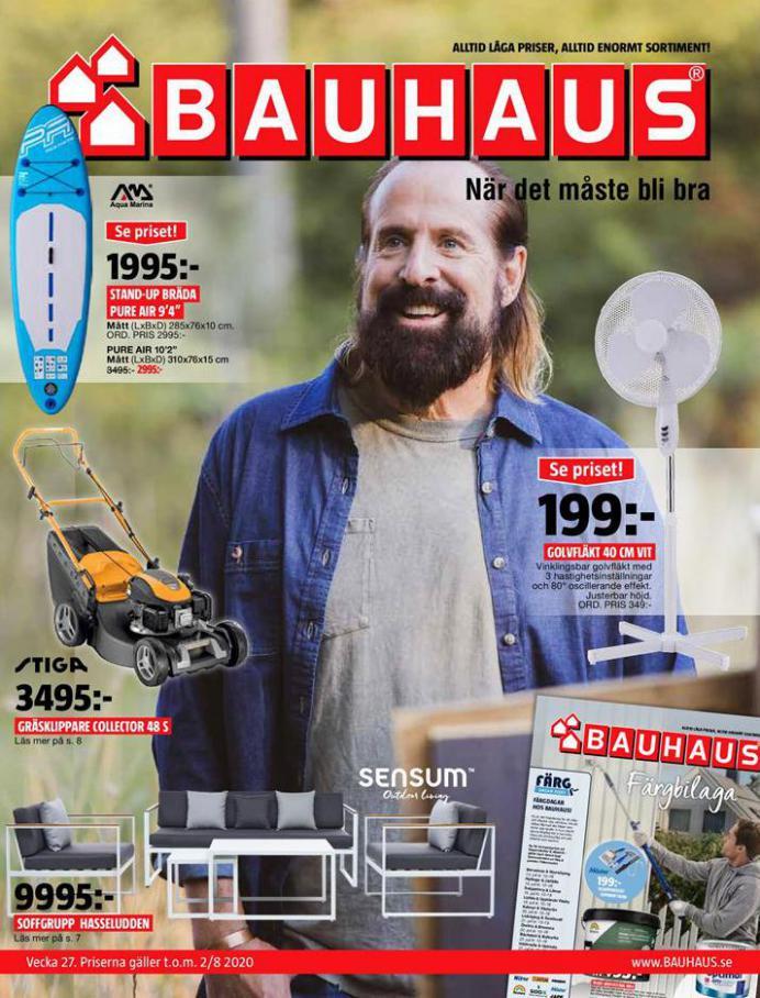 Bauhaus Erbjudande Aktuella Kampanjer . Bauhaus (2020-08-02-2020-08-02)