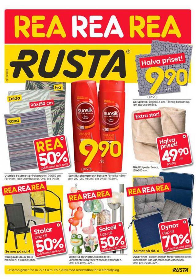Rusta Erbjudande Kampanjer . Rusta (2020-07-12-2020-07-12)