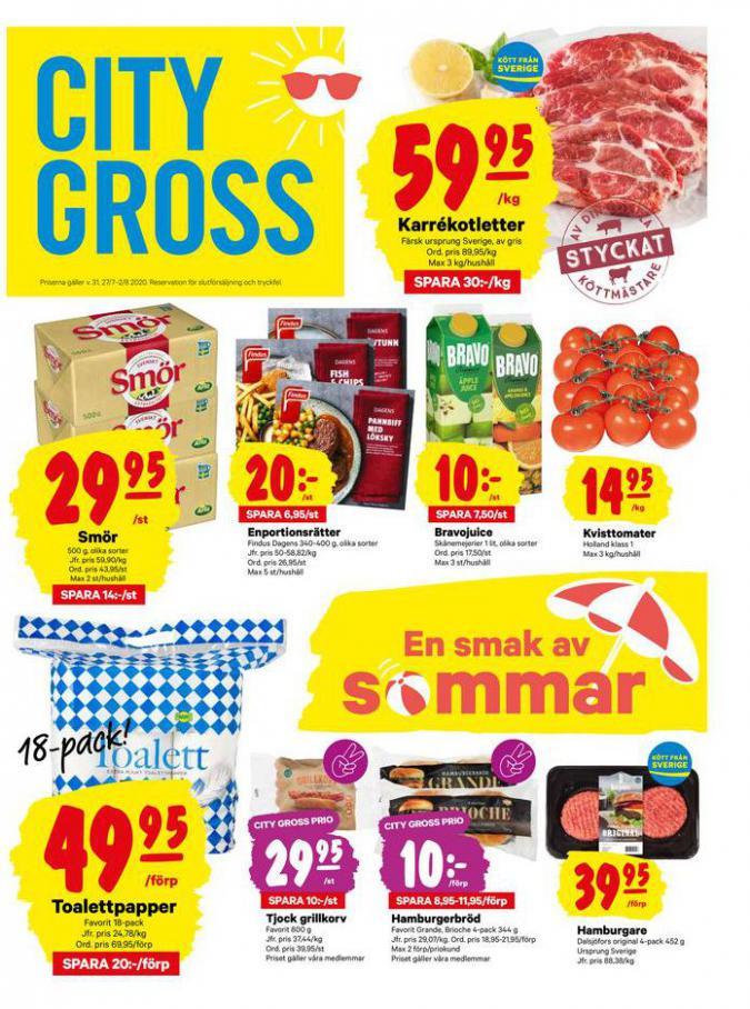 City Gross reklamblad . City Gross (2020-08-02-2020-08-02)