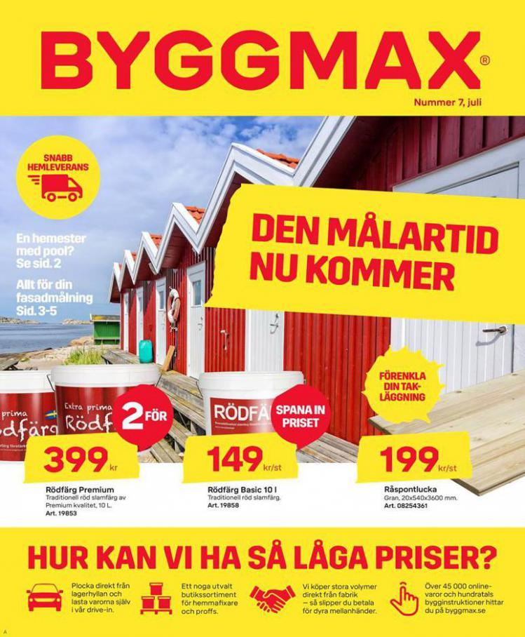 Byggmax Erbjudande Kampanjer . Byggmax (2020-07-16-2020-07-16)