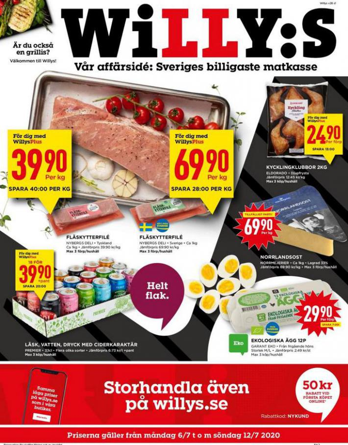 Willys reklamblad . Willys (2020-07-12-2020-07-12)