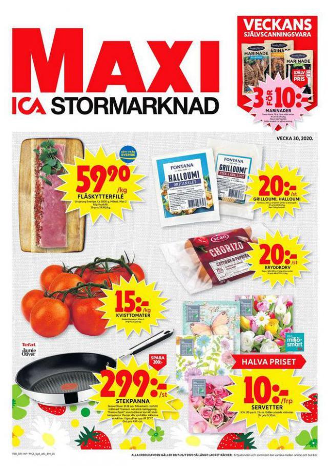 ICA Maxi Erbjudanden . ICA Maxi (2020-07-26-2020-07-26)
