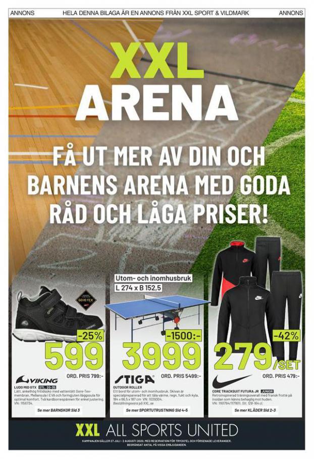 XXL Erbjudande XXL Arena . XXL (2020-08-02-2020-08-02)