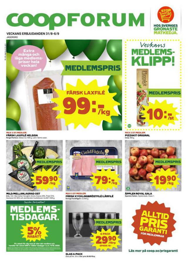 Coop Forum reklamblad . Coop Forum (2020-09-06-2020-09-06)