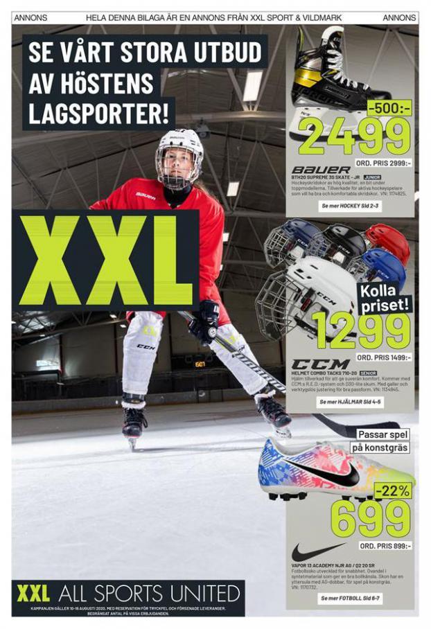 XXL Erbjudande XXL Hockey Guide . XXL (2020-08-16-2020-08-16)