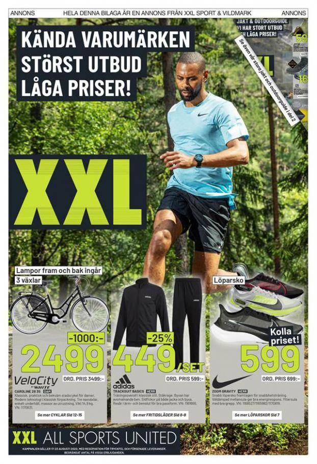Kända Varumärken Störst Utbud Låga Priser! . XXL (2020-08-23-2020-08-23)
