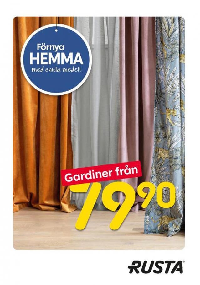 Förnya HEMMA med enkla medel gardiner fran . Rusta (2020-08-10-2020-08-10)