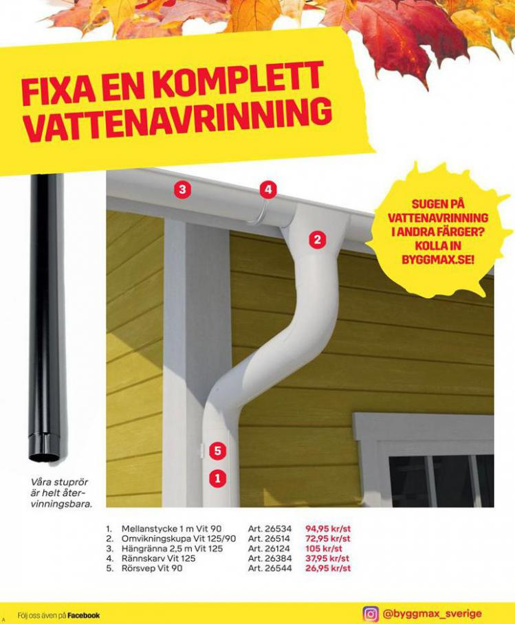 Byggmax Erbjudande Höstfixa Huset . Page 6