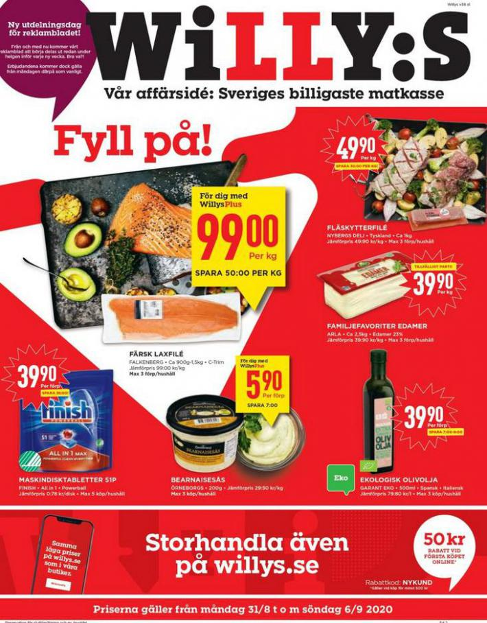 Willys reklamblad . Willys (2020-09-06-2020-09-06)
