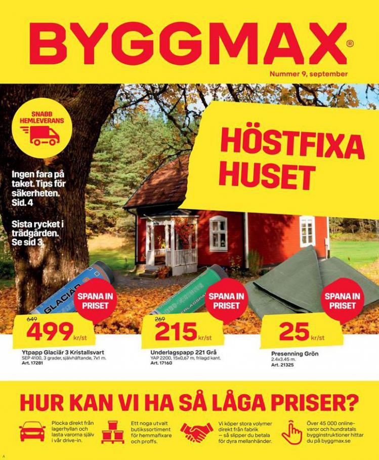 Byggmax Erbjudande Höstfixa Huset . Byggmax (2020-09-13-2020-09-13)