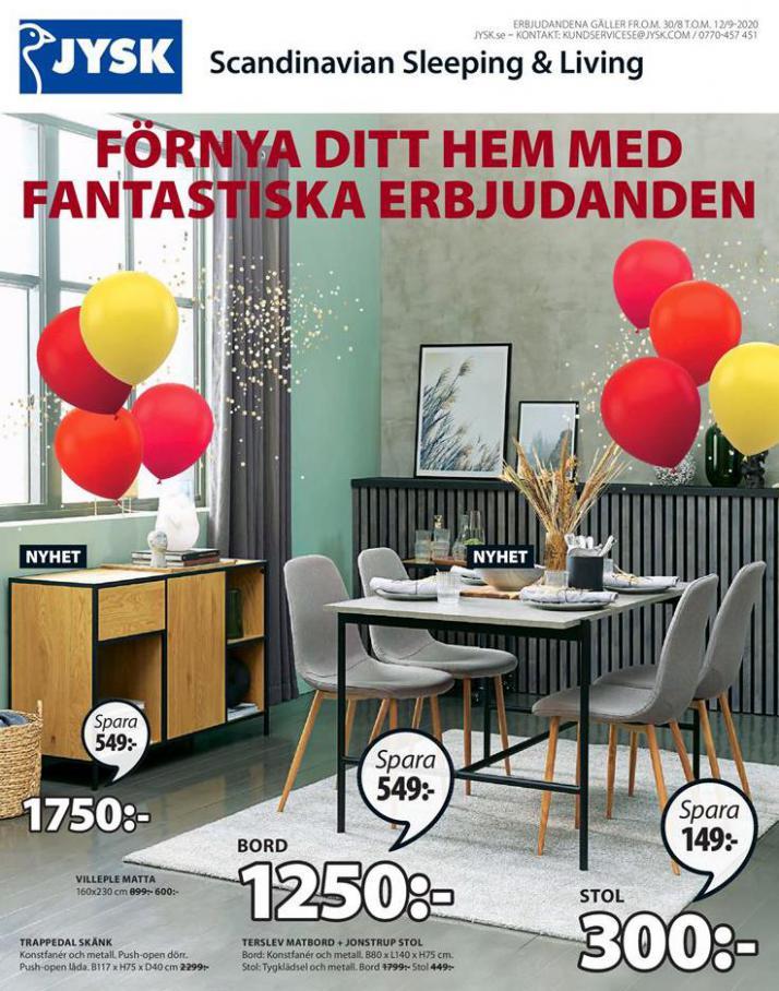 JYSK Erbjudande Price Party . JYSK (2020-09-12-2020-09-12)