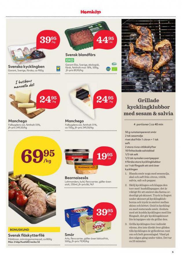 Hemköp reklamblad . Page 5