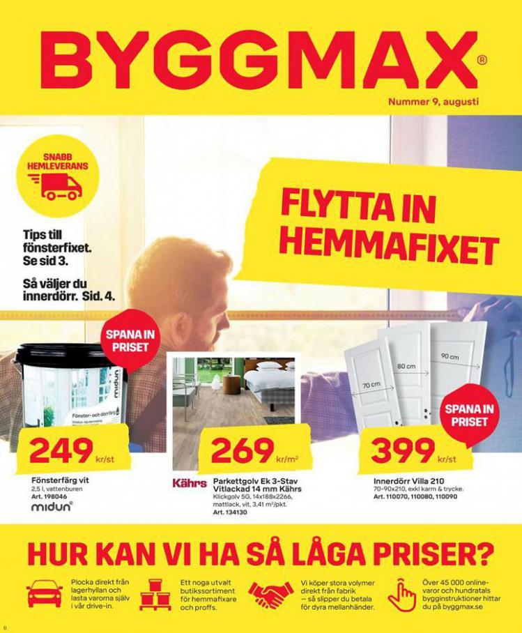 Byggmax Erbjudande Flytta in Hemmafixet . Byggmax (2020-08-23-2020-08-23)