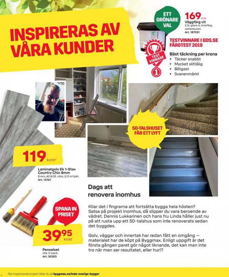 Byggmax Erbjudande Höstfixa Huset . Page 2