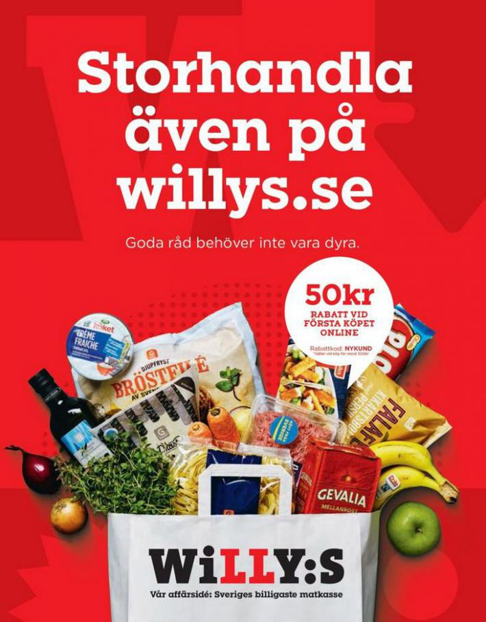 Willys reklamblad . Willys (2020-08-09-2020-08-09)
