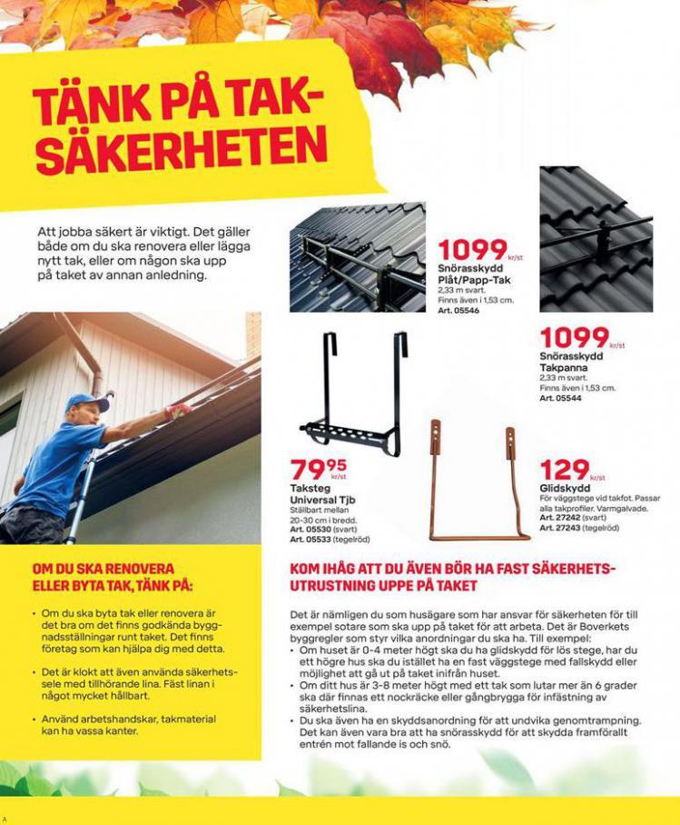 Byggmax Erbjudande Höstfixa Huset . Page 4