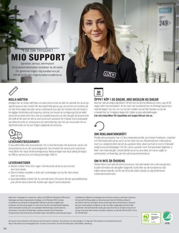 Mio Erbjudande Hösten 2020 . Page 164