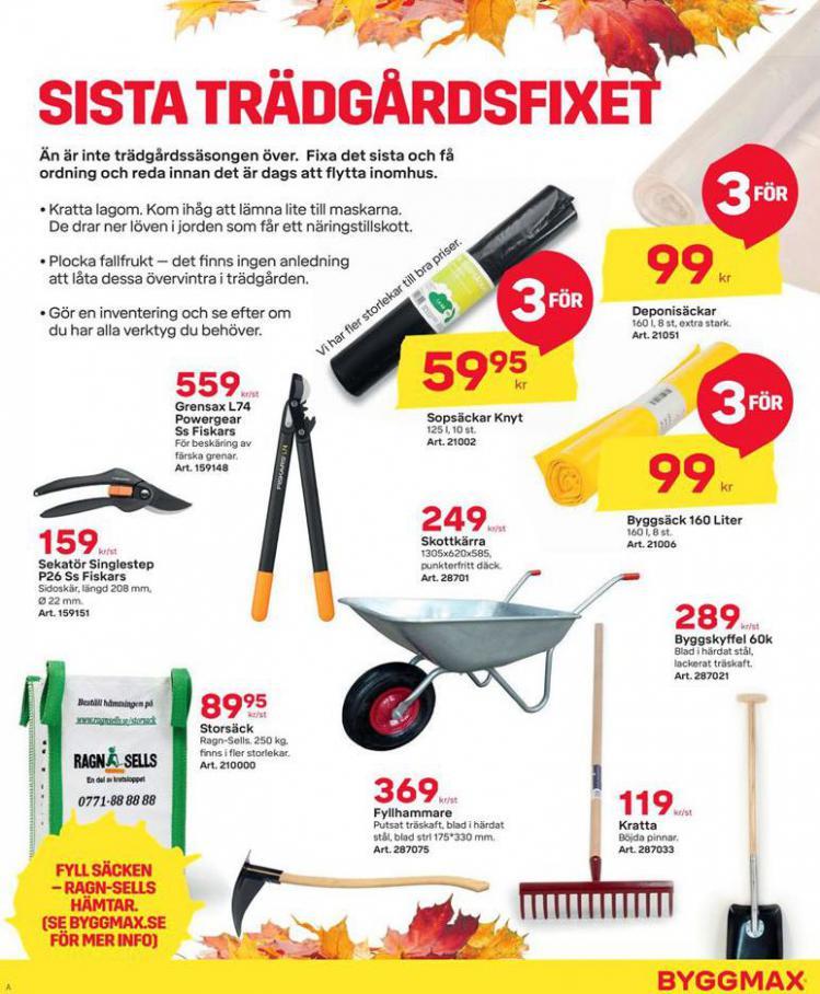 Byggmax Erbjudande Höstfixa Huset . Page 3