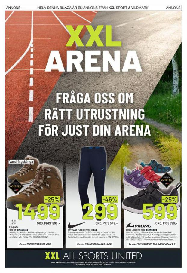 XXL Erbjudande XXL Arena . XXL (2020-08-16-2020-08-16)