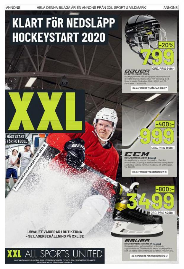 XXL Erbjudande Klart för nedsläpp Hockeystart 2020 . XXL (2020-09-06-2020-09-06)