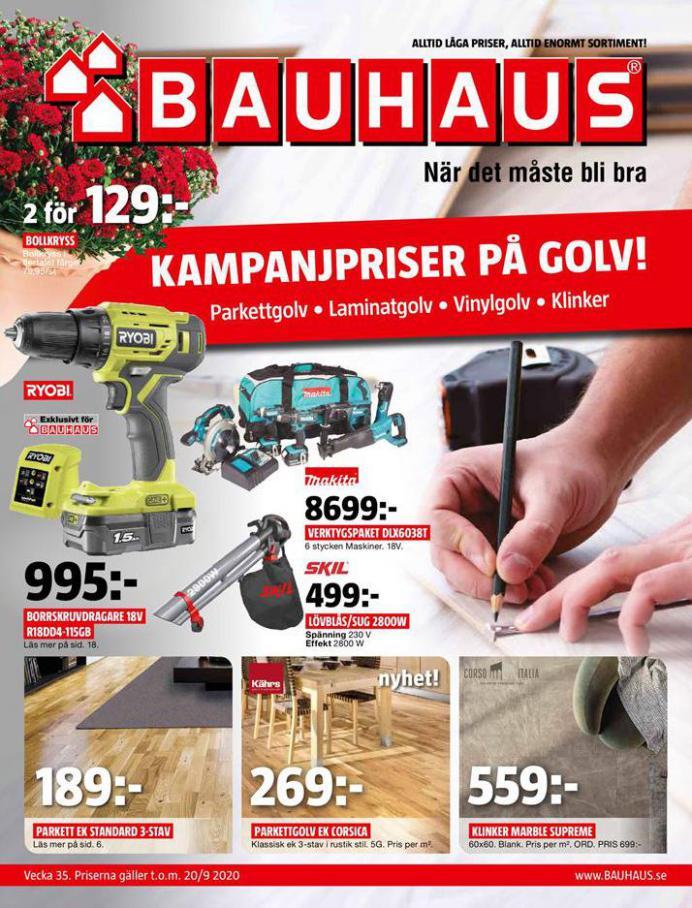 Bauhaus Erbjudande Aktuella Kampanjer . Bauhaus (2020-09-20-2020-09-20)