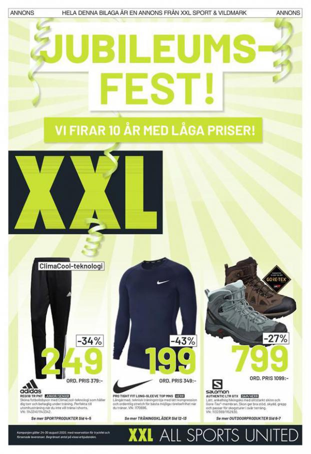 XXL Erbjudande Jubileums Fest! . XXL (2020-08-30-2020-08-30)