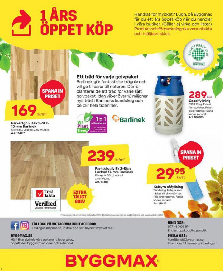 Byggmax Erbjudande Höstfixa Huset . Page 8