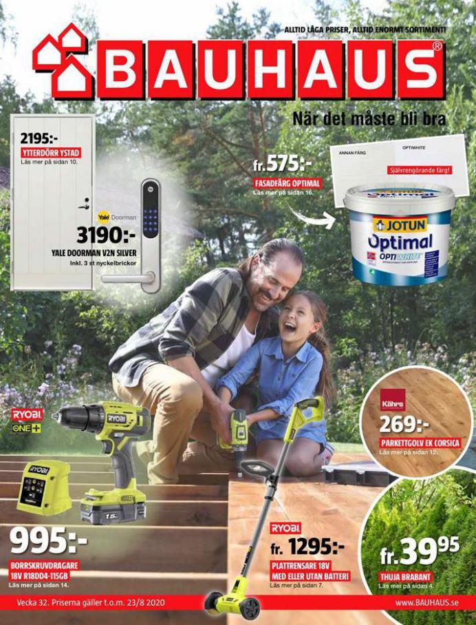 Bauhaus Erbjudande Aktuella Kampanjer . Bauhaus (2020-08-23-2020-08-23)