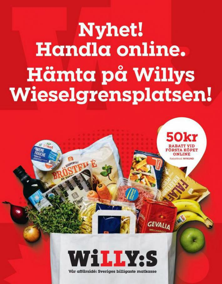 Willys reklamblad . Willys (2020-09-20-2020-09-20)
