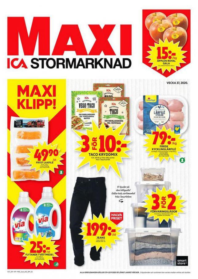 ICA Maxi Erbjudanden . ICA Maxi (2020-09-13-2020-09-13)