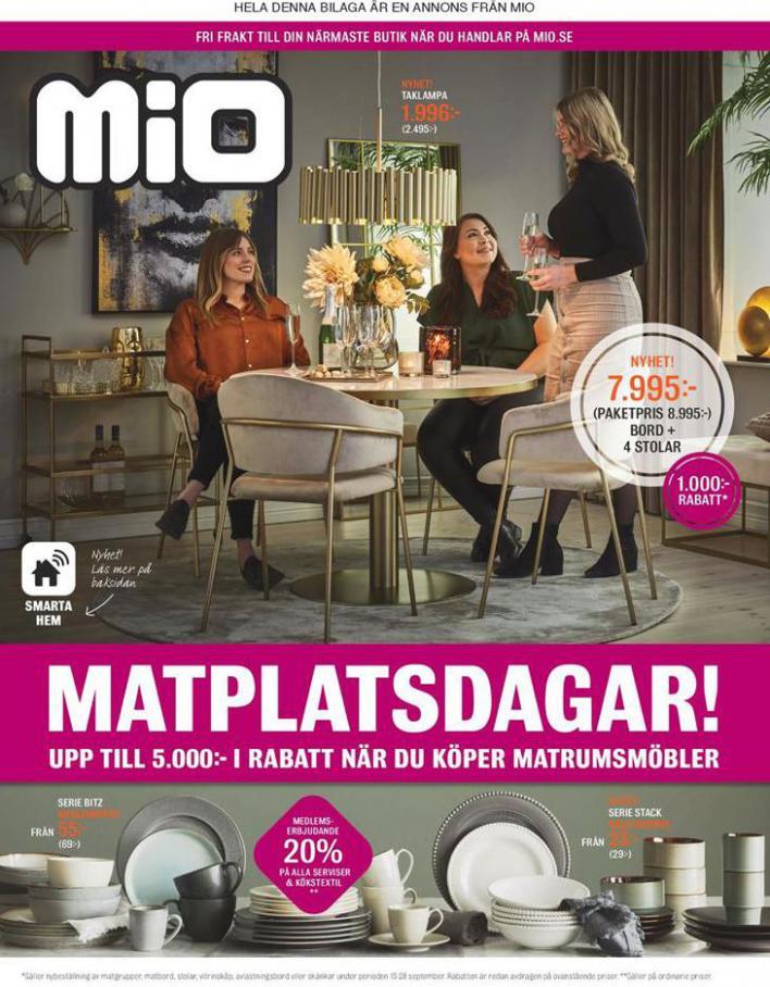 Mio Erbjudande Matplatsdagar! . Mio (2020-09-28-2020-09-28)