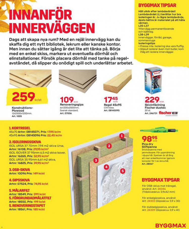 Byggmax Erbjudande Maxa Höstens Inneprojekt . Page 3