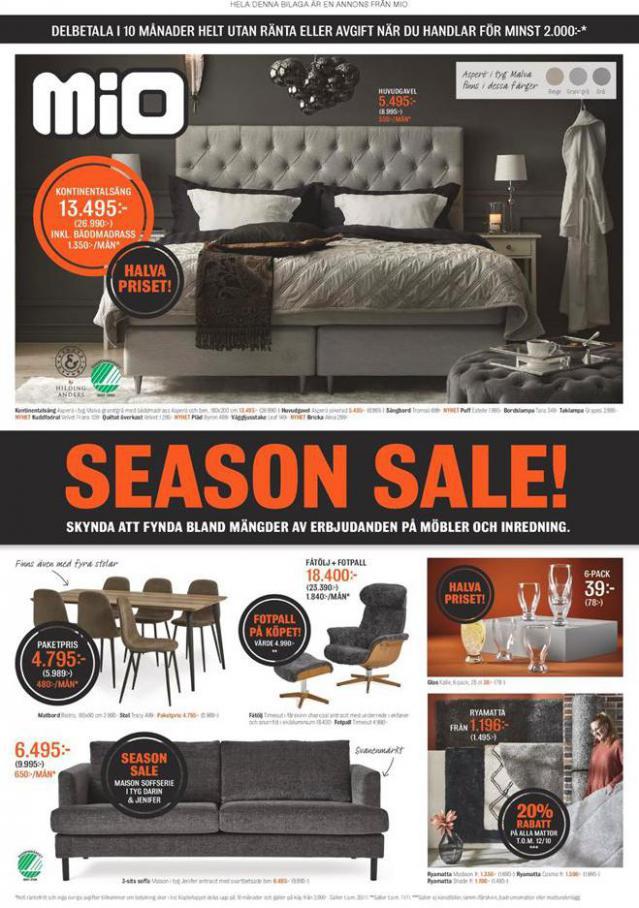 Mio Erbjudande Season Sale! . Mio (2020-11-30-2020-11-30)