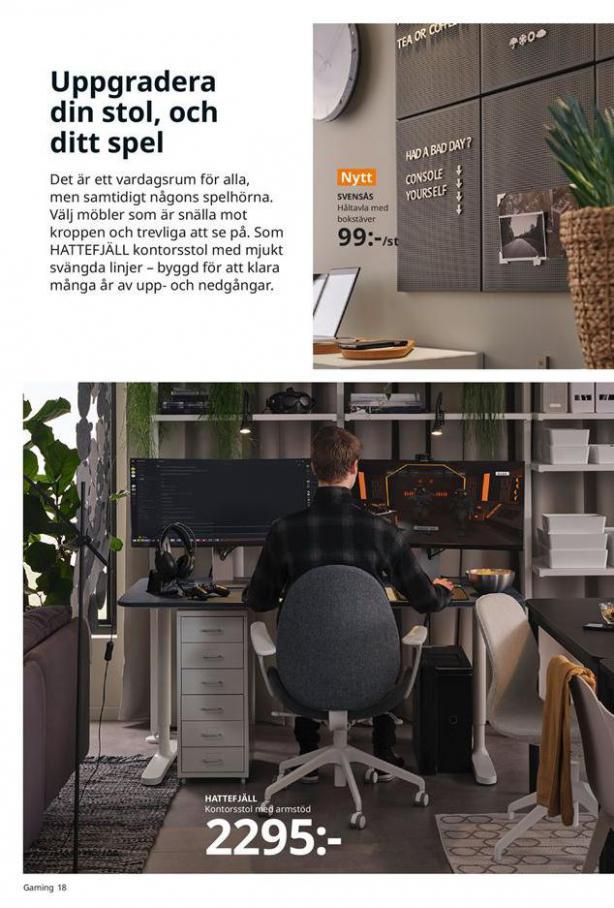 Arbete, studier och hobby 2021 . Page 18