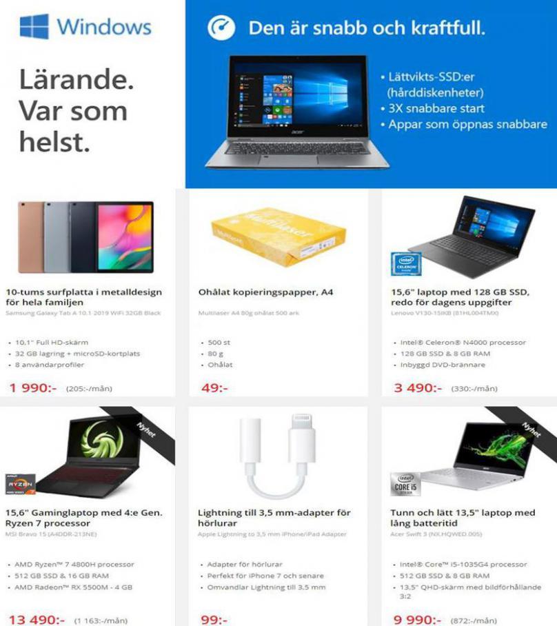 Net On Net Erbjudande Kampanjblad . Page 2