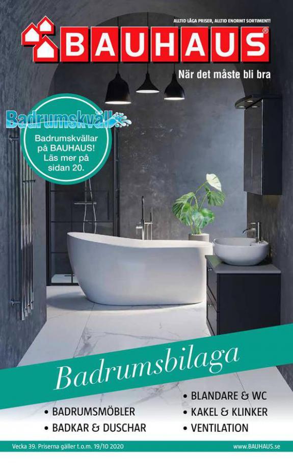 Bauhaus Erbjudande Badrumsbilaga . Bauhaus (2020-10-19-2020-10-19)