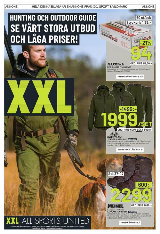 XXL Erbjudande Hunting Guide . XXL (2020-09-13-2020-09-13)