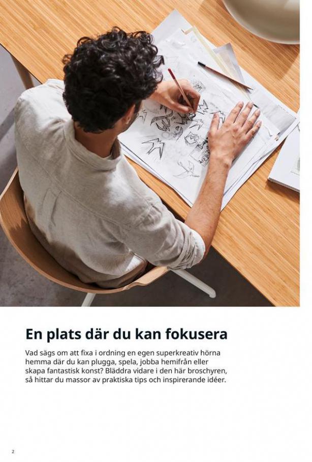 Arbete, studier och hobby 2021 . Page 2