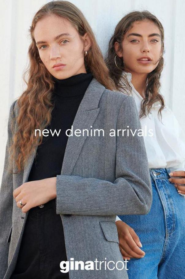 New Denim Arrivals . Gina Tricot (2020-11-16-2020-11-16)