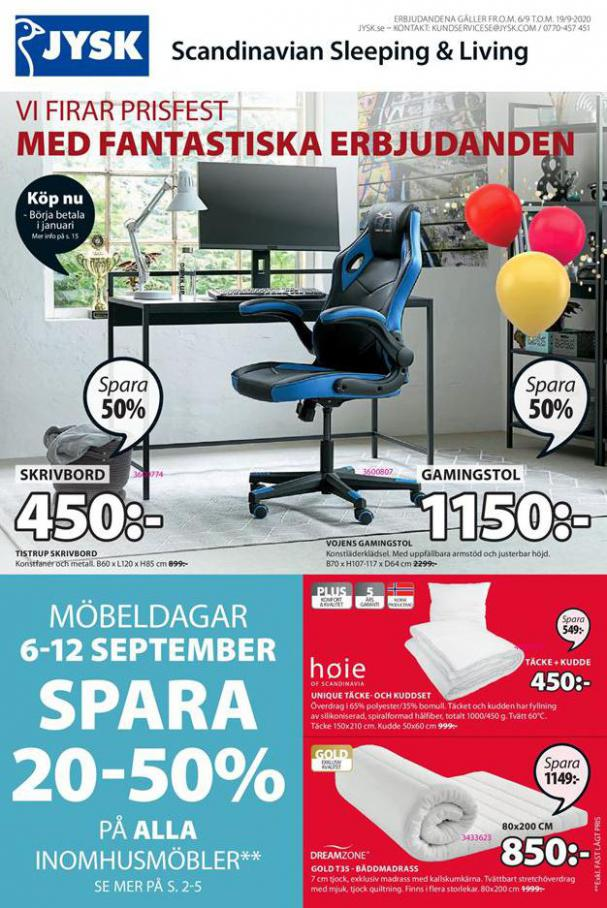 JYSK Erbjudande Price Party . JYSK (2020-09-19-2020-09-19)