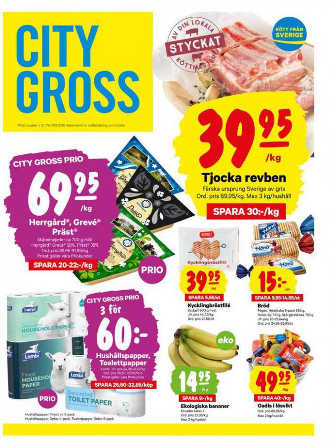 City Gross reklamblad . City Gross (2020-09-13-2020-09-13)